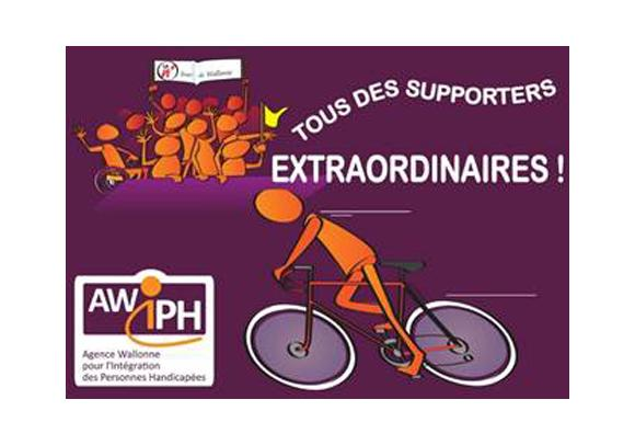 Tour de Wallonie 2015 : l'AWIPH sur les starting-blocks
